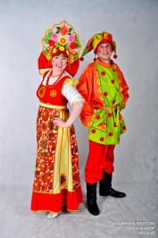 Фольклорные  праздники с царевной Забавой и скоморохом Еремой.
